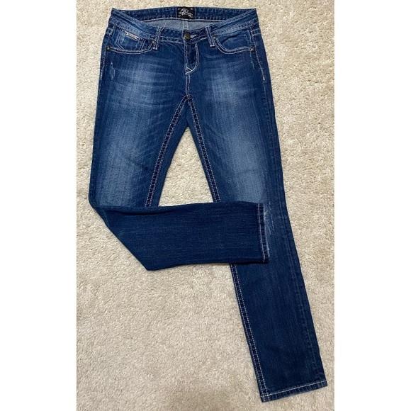 Express Denim Skinny Jeans